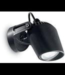 Aplica de exterior Minitommy, 1 bec LED, dulie GU10, L:122 mm, H:127 mm, Negru