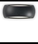 Aplica pentru exterior Francy-1, 1 bec, dulie E27, L:300 mm, H:130 mm, Negru