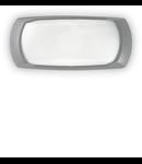 Aplica pentru exterior Francy-2, 1 bec, dulie E27, L:300 mm, H:130 mm, Gri