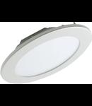 CORP DE ILUMINAT PANEL LED ROTUND INCASTRAT, D=145/135mm 6400K 9W