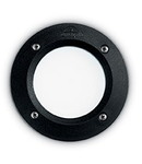 Spot in pardoseala Leti rotund, 1 LED, dulie GX53, D:134 mm, H:80 mm, Negru