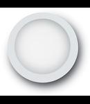 Aplica Berta mare, 1 LED, dulie GX53, D:360 mm, H:95 mm, Alb