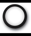 Aplica Berta mare, 1 LED, dulie GX53, D:360 mm, H:95 mm, Negru