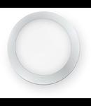 Aplica de exterior Berta medie, 1 LED, dulie GX53, D:275 mm, H:80 mm, Alb