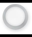 Aplica de exterior Berta medie, 1 LED, dulie GX53, D:275 mm, H:80 mm, Gri