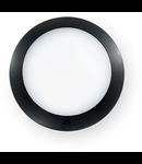 Aplica de exterior Berta medie, 1 LED, dulie GX53, D:275 mm, H:80 mm, Negru