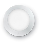 Aplica de exterior Berta mica, 1 LED, dulie GX53, D:200 mm, H:70 mm, Alb