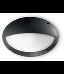 Aplica de exterior Maddi 2, 1 bec, dulie E27, D:330 mm, H:230 mm, Negru