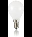 Bec LED Sfera alb, dulie E14, 4 W - 3000 K, lumina calda