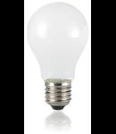 Bec LED Goccia alb, dulie E27, 8 W - 3000 K, lumina calda
