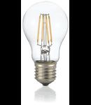 Bec LED Goccia transparent, dulie E27, 8 W - 3000 K, lumina calda
