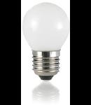 Bec LED Sfera alb , dulie E27, 4 W - 3000 K, lumina calda