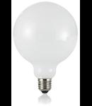 Bec LED Globo alb, dulie E27, 8 W - 3000 K, lumina calda, D: 125 mm