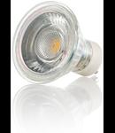 Bec LED Vetro, dulie GU10, 5 W - 3000 K, lumina calda