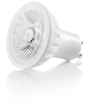 Bec LED Ceramica, dulie GU10, 5 W - 3000 K, lumina calda