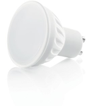 Bec LED Ceramica, dulie GU10, 7 W - 3000 K, lumina calda