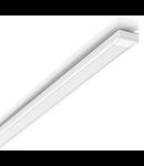 Profil LED dreptunghiular alb
