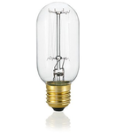 Bec incandescent decorativ Bomb, 25 W, E27, 60Lm