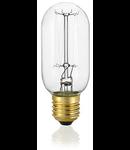 Bec incandescent decorativ Bomb, 25 W, E27, 60Lm