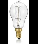 Bec incandescent decorativ Sfera, 40W, E14, 130Lm