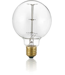 Bec incandescent decorativ Globo, 25W, E27, 60Lm