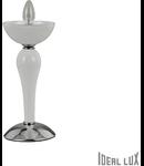 veioza Casanova, 1 bec, dulie E14, D:150 mm, H:330 mm, Alb
