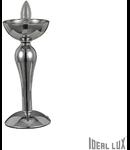 veioza Casanova, 1 bec, dulie E14, D:150 mm, H:330 mm, Fumuriu