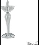 veioza Casanova, 1 bec, dulie E14, D:150 mm, H:330 mm, Transparent