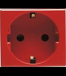 Priza schuko rosie 2 module 16a