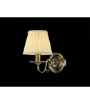 Aplica Elegant Battista,1 x E14, 230V, D.16cm,H.23 cm,Bronz