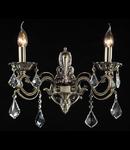 Aplica Elegant Bronze,2 x E14, 230V, D.40cm,H.38 cm,Bronz