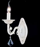 Aplica Elegant Bianco,1 x E14, 230V, D.26cm,H.37 cm,Alb