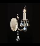 Aplica Elegant Pastello,1 x E14, 230V, D.11cm,H.33 cm,Alb