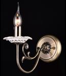 Aplica Elegant Aliana,1 x E14, 230V, D.12cm,H.25 cm,Bronz