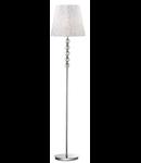 lampa de podea Le Roy, 1 bec, dulie E27, D:350 mm, H:1575 mm, Crom