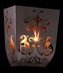Aplica Elegant Ferro,2 x E14, 230V, D.24 cm,H.28 cm,Maro