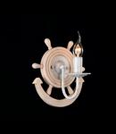 Aplica Elegant Frigate,1 x E14, 230V, D.24 cm,H.23 cm,Alb