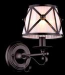 Aplica House Country,1 x E14, 230V, D.18 cm,H.30 cm,Maro inchis