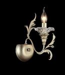 Aplica House Coperto,1 x E14, 230V, D.26 cm,H.32 cm,Aur-antic