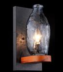 Aplica House Flask,1 x E14, 230V, D.16 cm,H.35 cm,Maro