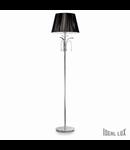 lampa de podea Accademy, 1 bec, dulie E27, D:400 mm, H:1670 mm, Crom