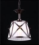 Lampa suspendata  House Country,1 x E14, 230V, D.18cm,H.25 cm,Maro inchis