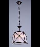 Lampa suspendata  House Country,1 x E27, 230V, D.32cm,H.34 cm,Maro inchis