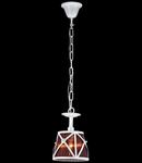 Lampa suspendata  House Country,1 x E14, 230V, D.18cm,H.25 cm,Alb