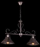 Lampa suspendata  House Iron,2 x E27, 230V, D.75cm,H.48 cm,Maro inchis