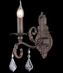 Aplica House Templiers,1 x E14, 230V, D.25 cm,H.35 cm,Maro inchis