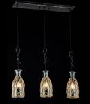 Lampa suspendata  House Rappe,3 x E14, 230V, D.62cm,H.127 cm,Negru