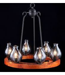 Lampa suspendata  House Flask,6 x E14, 230V, D.61cm,H.63 cm,Maro