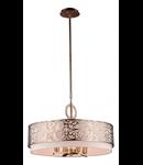Lampa suspendata  House Venera,4 x E14, 230V, D.55cm,H.33 cm,Auriu