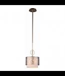 Lampa suspendata  House Venera,1 x E27, 230V, D.22cm,H.29 cm,Auriu